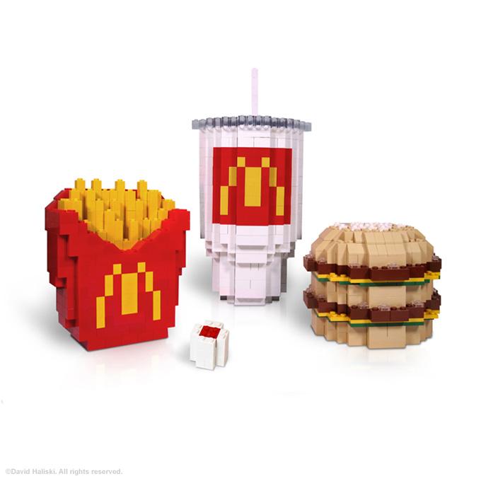 Rocks moreover Bdb C C C Deb C Ab A moreover Collector Ortho besides Haliski Lego Mcdonalds Big Mac Meal as well R J B. on banana mosaic art
